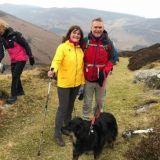 Kickstart walk in Knocknacloghoge at Lough Dan