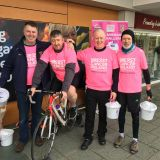 M2M Static Cycle Fundraising in Stillorgan Shopping Center