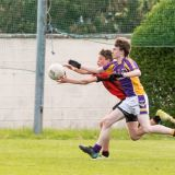 Kilmacud Crokes Under 16C Versus Ballinteer League encounter