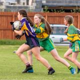 Kilmacud Crokes Under 15 Ladies Football Division 6 clash against Clann Mhuire