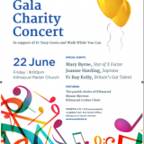 Gala Concert in Support of Father Tony Coote Walk While You Can Friday May 22nd 8pm Lawerences Church