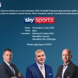 Sky Sports GAA Football Championship Preview in Kilmacud Crokes Thursday July 12th