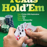 Poker Classic - Friday 28th September at Kilmacs Bar @8pm.