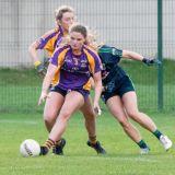 Ladies Football Kilmacud Crokes Versus Foxrock Cabinteely  Snr Championship Semi Final Saturday 22nd Sept