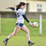 Rachel Fleming makes her Debut for Dublin Senior Ladies