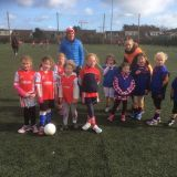 Nursery Girls Attend Their First Cuala Blitz