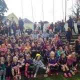 Senior Ladies Football & Camogie Visit U8's