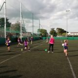 U11's Charity Blitz & Training Session with Brid Stack