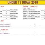 U13 Draw  -  Beacon Hospital All Ireland Sevens