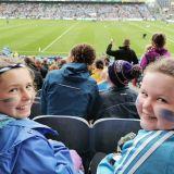 Kilmacud Crokes Supporting the Senior Ladies All Ireland Final