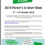 Parents in Sports Week