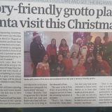 Kilmacud Crokes All Sibling Santa  Sensory friendly Saturday Dec 14th 12 -2pm  Signup before Dec 1st