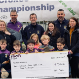 Our Under 9 Footballers,Parents and Coaches  Raise Funds for the Homeless