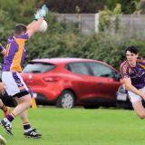 Junior 1 Football Championship 1st round game Kilmacud Crokes Versus Castleknock
