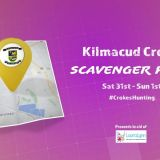 Get active and take part in the Kilmacud Crokes Scavenger Hunt on Saturday 31st and Sunday 1st!