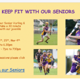 Keep Fit with our Seniors Every Thursday on Facebook !