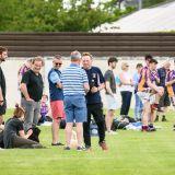 Go Ahead Adult Football League Division Ten South  Kilmacud Crokes Versus Lucan Sarsfields