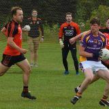 Go Ahead Adult Football League Division Four South Kilmacud Crokes versus Ballinteer St Johns