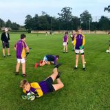 JUVENILE FOOTBALL GOAL KEEPING COACHING SESSION