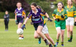 Kilmacud Crokes Under 15 Ladies Football Division 6 clash against Clann Mhuire