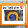 Club Defibrillator re-location