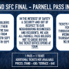 Parnell Pass All Ireland Ticket Details
