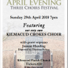 April Evening 3 Choirs Festival Featuring The Kilmacud Crokes Choir - Sunday April 29th 7pm Kilmacud Parish Church