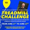 Stillorgan Shopping Center Treadmill Challange for Fr Tony Coote - Walk While You Can