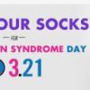 Today is World Down Syndrome Day  - Thursday March 21st