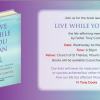 Live While You Can Book Launch May 1st at 6:30pm Mount Merrion Church