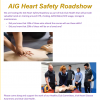 AIG Happy Heart Roadshow At Kilmacud Crokes Thursday June 13th at 8pm in the Function Room