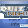 Table Quiz in Support of Aware - Saturday May 22nd 8pm in the Club