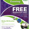 Sports Ability Open Evening 25th Nov  4-6pm in Explorium Ireland, Sandyford.