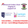 Kilmacud Crokes Choir December 14th in