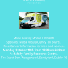 MARIE KEATING MOBILE UNIT VISIT TO BALALLY FAMILY RESOURCE CENTRE, SANDYFORD  Monday Oct 18th 10:30 > 2:30pm